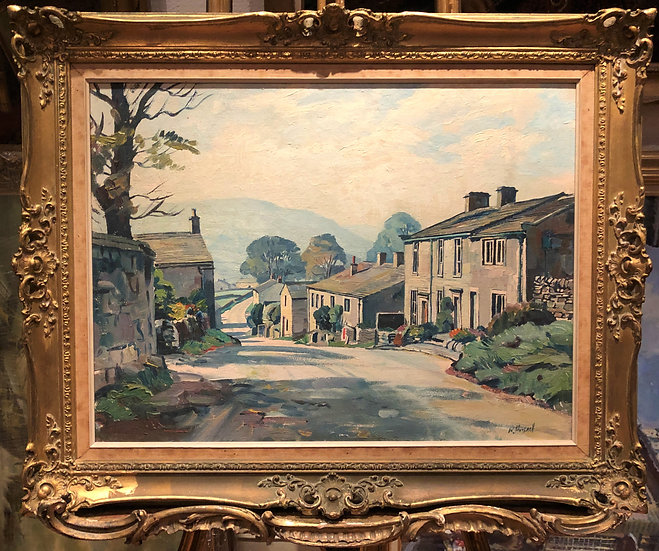 OIL PAINTING By WALTER CECIL HORSNELL ARTIST 20th CENTURY IN A WONDERFUL FRAME