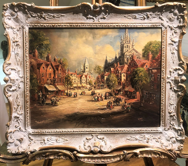 OIL PAINTING By A FINE IMPRESSIONIST ARTIST 20th CENTURY LISTED ARTIST