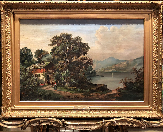 OIL PAINTING PATRICK NASMYTH Signed FINE MASTER PAINTER CIRCA 19th Century PIECE