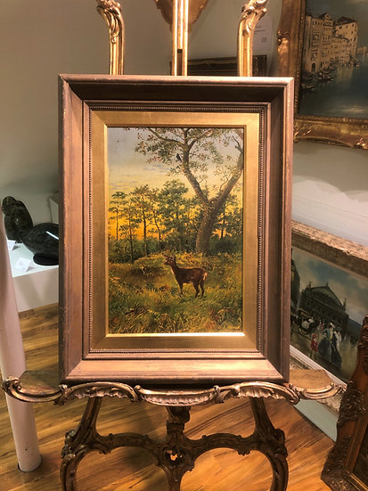 FINE ORIGINAL ARTIST 19th Century  OLD MASTER OIL PAINTING