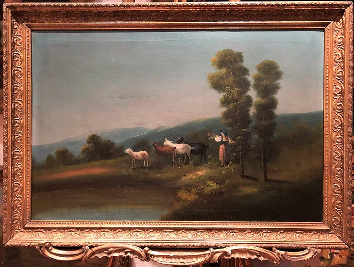 FINE LARGE OLD MASTER OIL PAINTING Circa 19TH Century ITALIAN SCHOOL