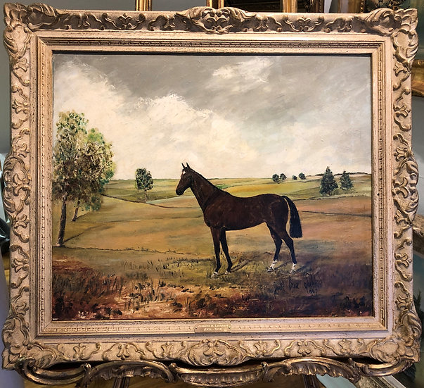 ORIGINAL OIL PAINTING Painted by Artist Jeanette B Lockhart (1921- 1920) GGF