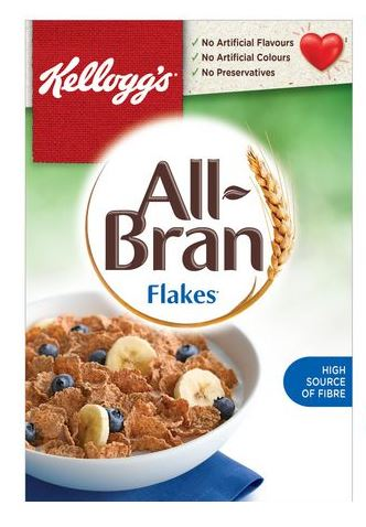 All Bran Flakes Cereal
