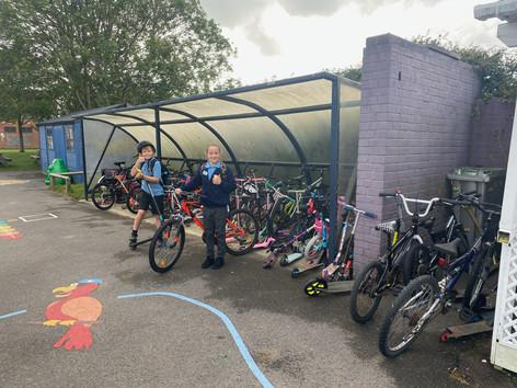 Bike to School Success!