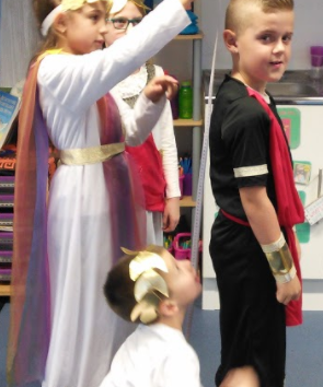 Greek Day in Year 3