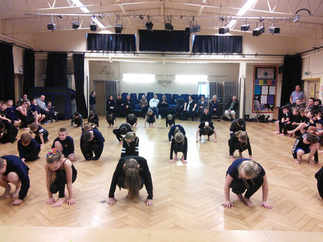 Dancing with Causeway Secondary School