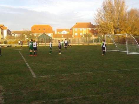 Boys Inter-School Football Match Away v The Haven Primary School