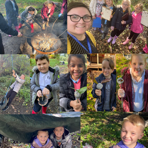Outdoor Learning for Year 3!
