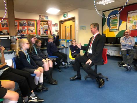 MP visits Langney!