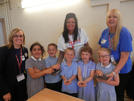 'Try It Tuesday' at Langney Primary!