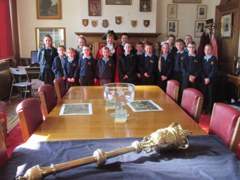 School Council Visit To Town Hall