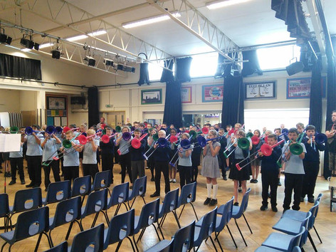 Year 5 and 6 Brass Recital for Parents