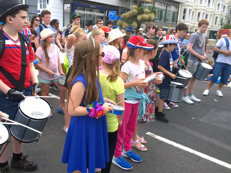 Year 4 Take Part in Eastbourne Carnival