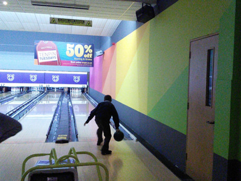 Year 6 Activity Week:  Bowling Fun