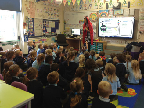 Red Riding Hood visits Year 1!