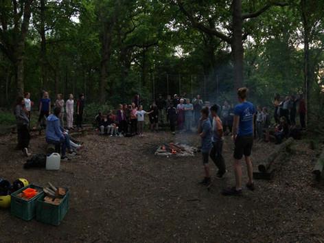 Campfire Talent Show!