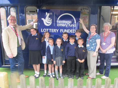 School Receives £3,300 History Grant!