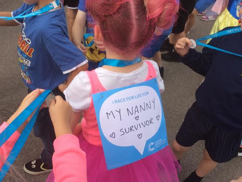 £2,500 Raised for Race for Life