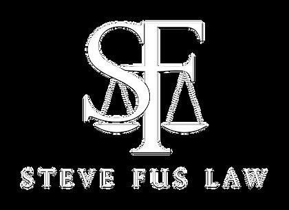 Steve Fus Logo Revised - WHITE KO with D