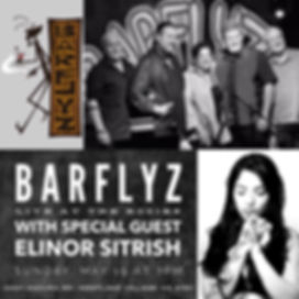 Barfliz w special guest Elinor Sitrish.j
