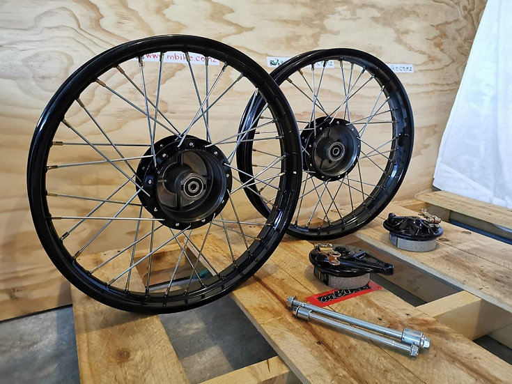 CUB Wheel Set With Drum Cover