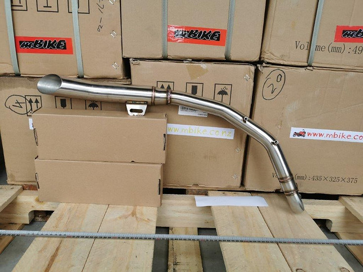 Aftermarket Z50 High Swept Exhaust