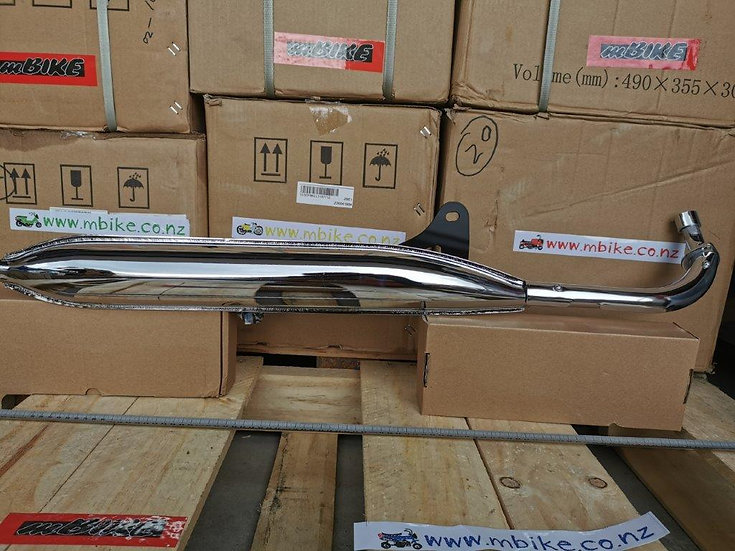 Cub C50 Factory Style Exhaust