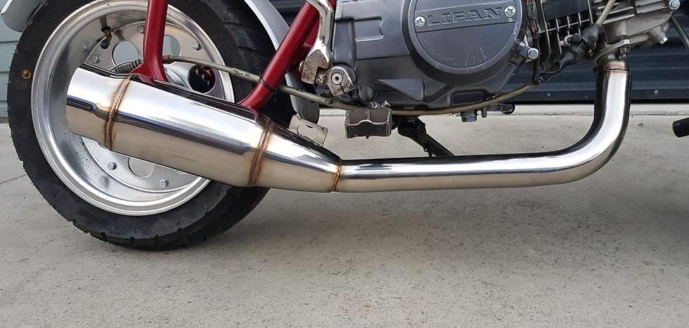 Exhaust - Low Swept + Muffler