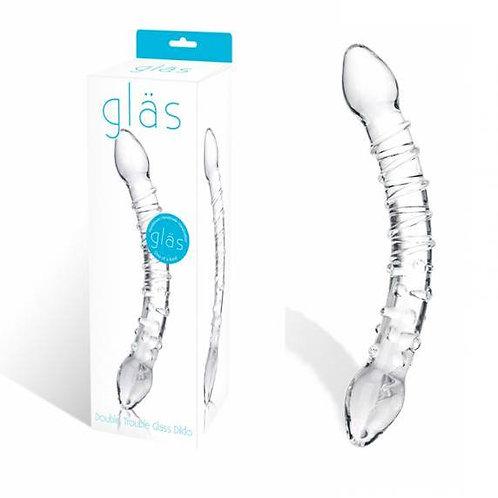 Glas Double Trouble Dildo