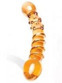 Glas Orange Tickler Dildo