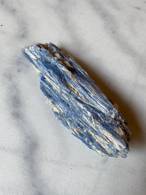 Kyanite Blade with Quartz Inclusions