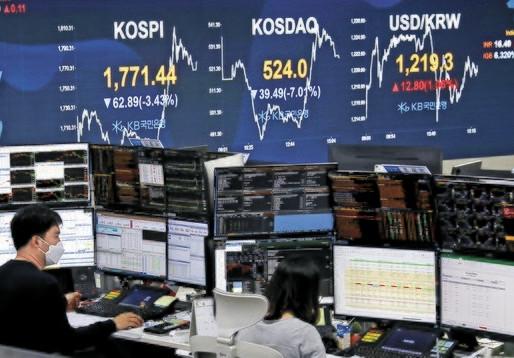 韓国株の暴落 韓国経済ドロップアウトはいつ!?