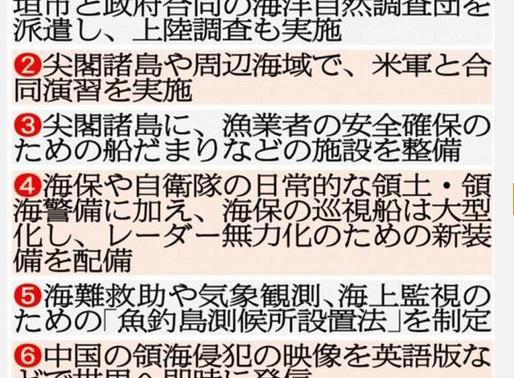 「日本の尊厳と国益を護る会」が、尖閣諸島を守り抜く「7つの緊急提言」