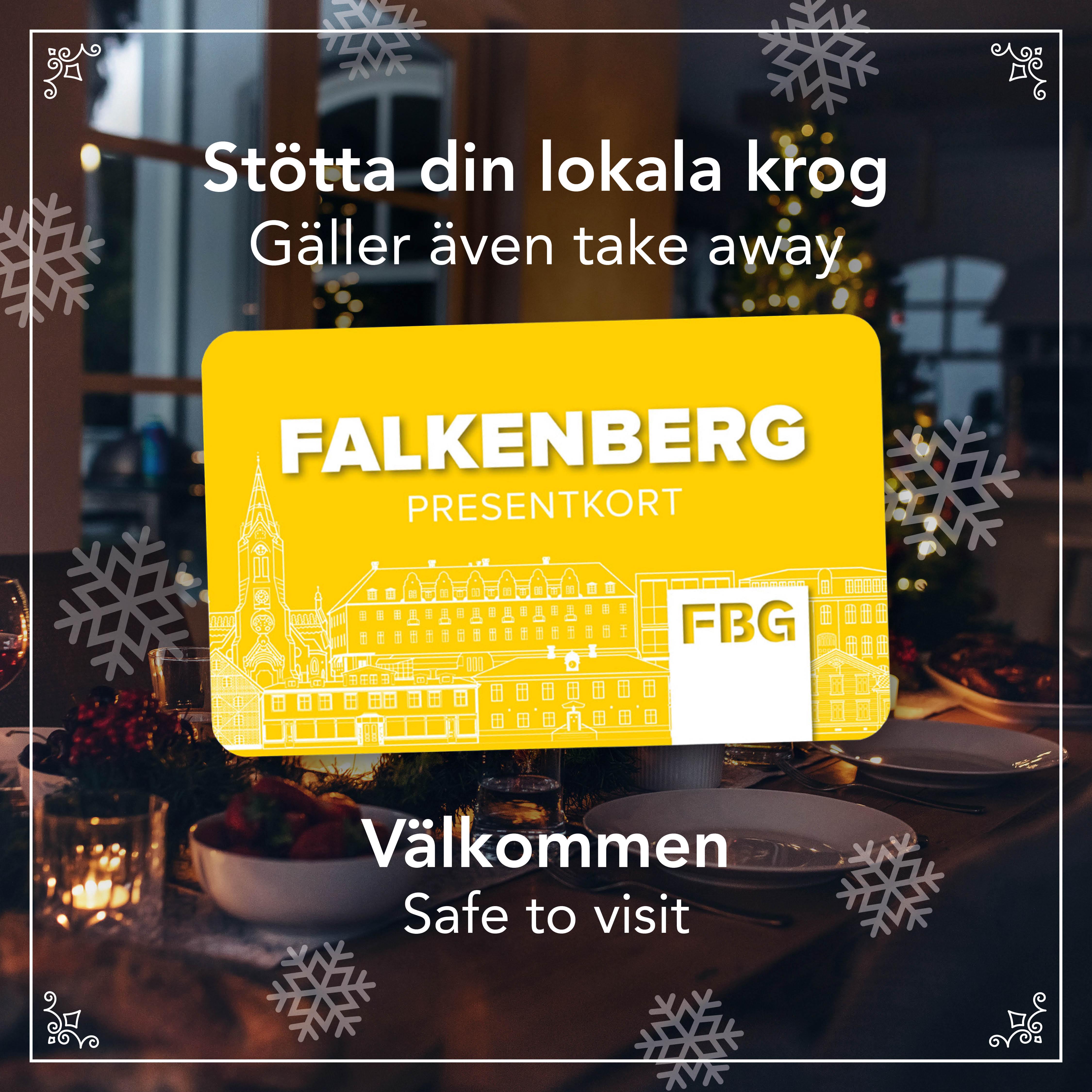 Falkenberg presentkort