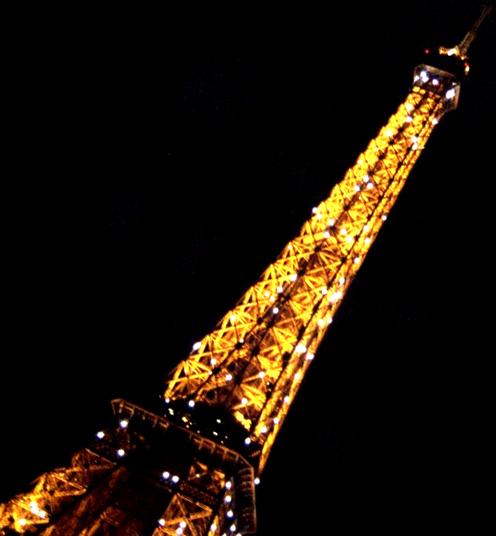 Eiffel la nuit