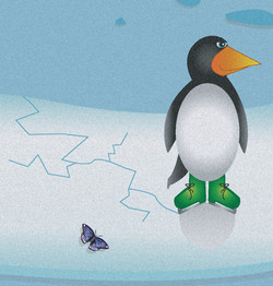 Penguin from Mari's Journey