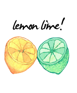 lemon lime shirt design