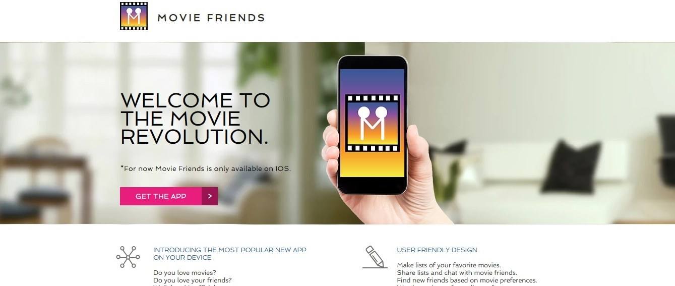 Movie Friends App