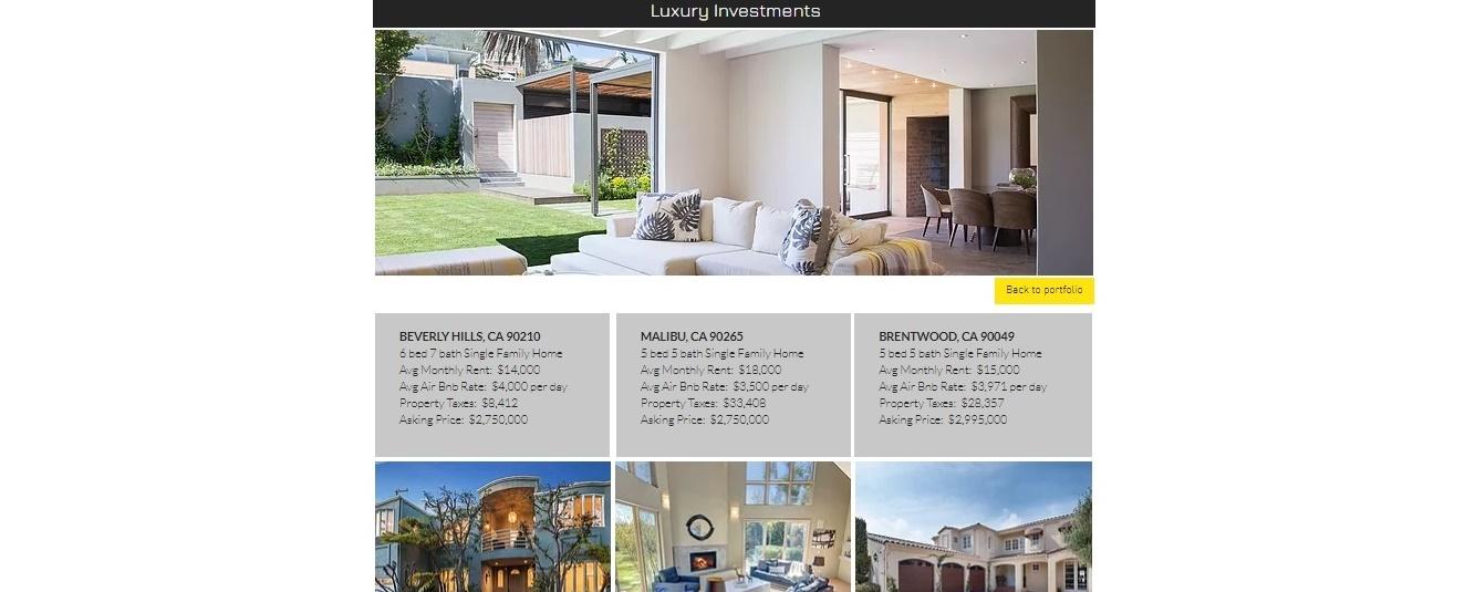 CAP - Luxury Investments