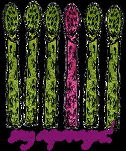 asparagus shirt design