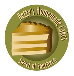 Betty's Homemade Cakes Logo