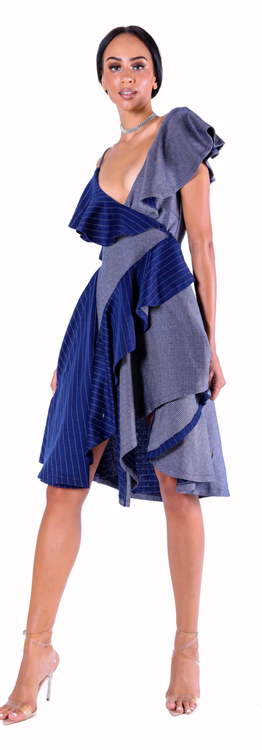 Gabriel Stripe Dress