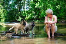 Puppies & Cheryl