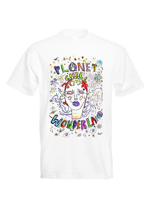 PCW ILLUSTRATION TEE WHITE