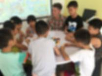 Games developing skills of speaking