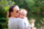 Jamie Hoogland met zoontje