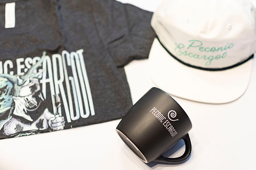 The Merch Trifecta - Shirt, Hat, Mug