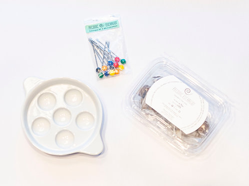 Essential Escargot Pack - Snails, Baking Dish, Picks