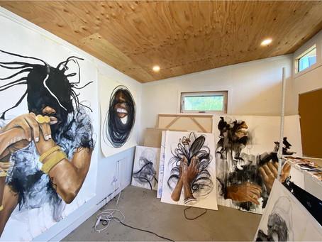 Quarantine Studio Visit: Khari Turner