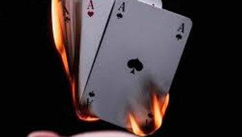 אמן חושים חבילה עולה באש